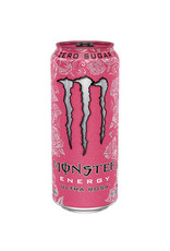 Monster Energy Ultra Rosa - Zero Sugar (import) - 473ml