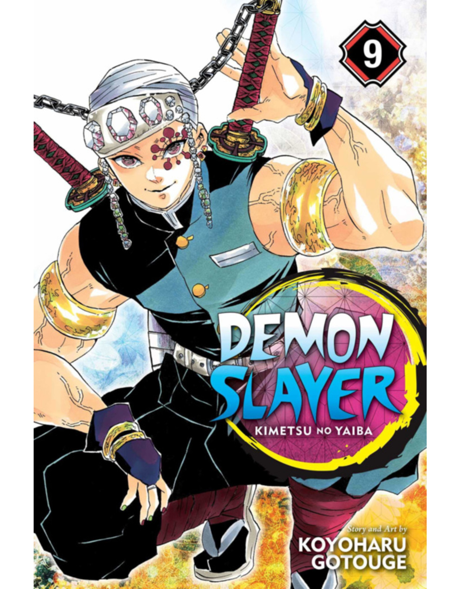 Demon Slayer Volume 09 (English version)
