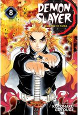 Demon Slayer Volume 08 (English version)