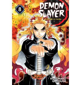 Demon Slayer Volume 08 (Engelstalig)