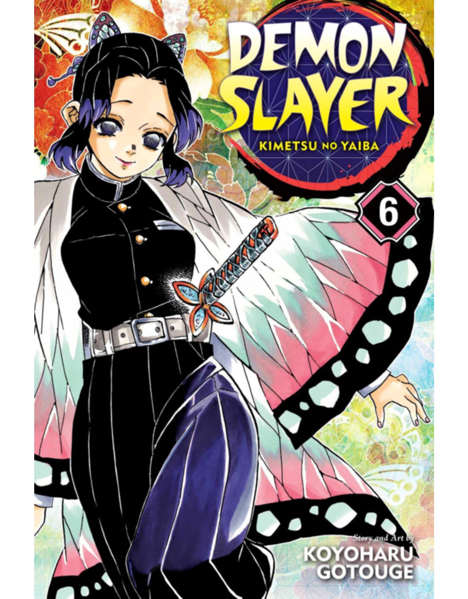 Demon Slayer Volume 06 (English version)