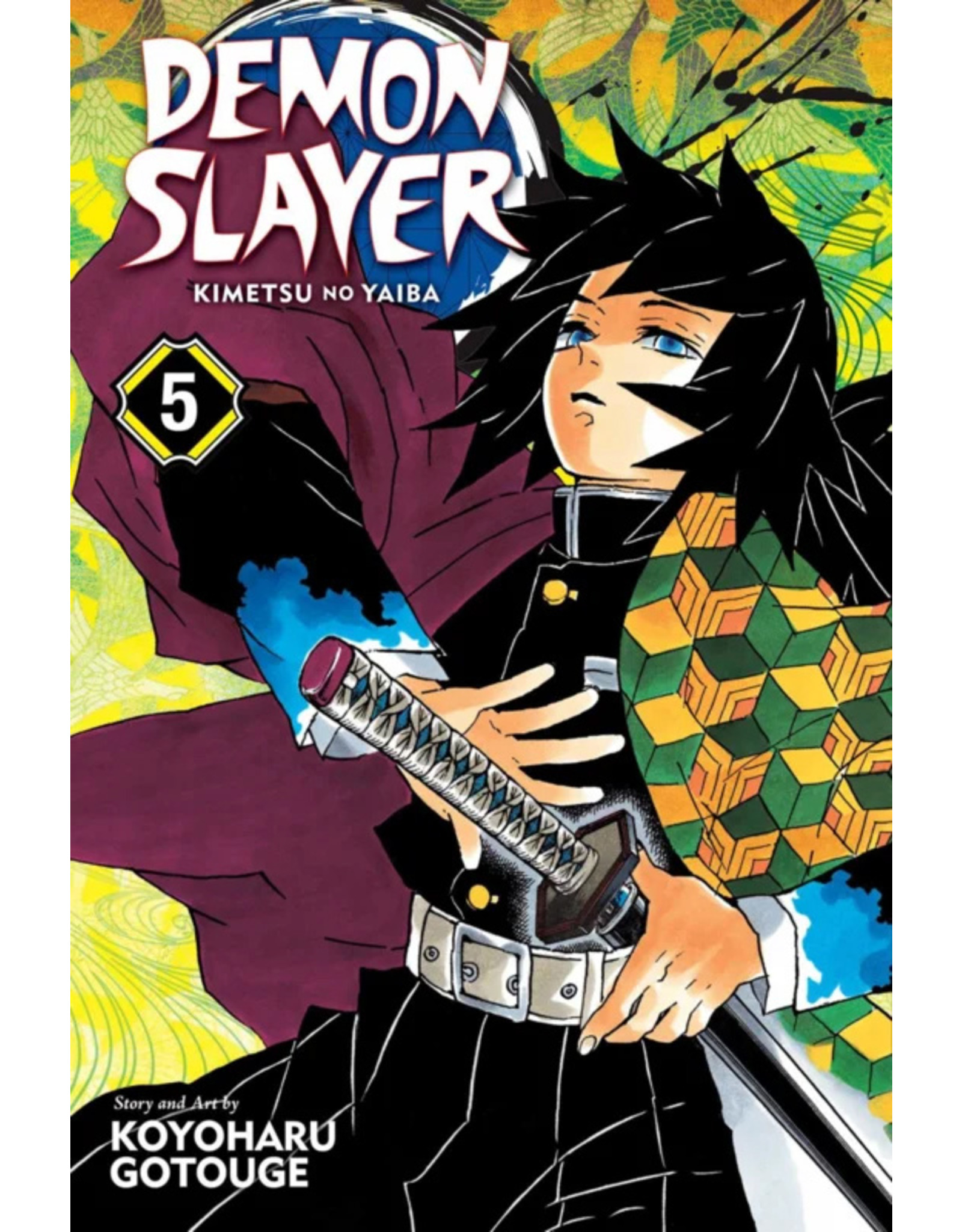 Demon Slayer Volume 05 (English version)