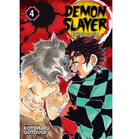 Demon Slayer Volume 04 (Engelstalig)