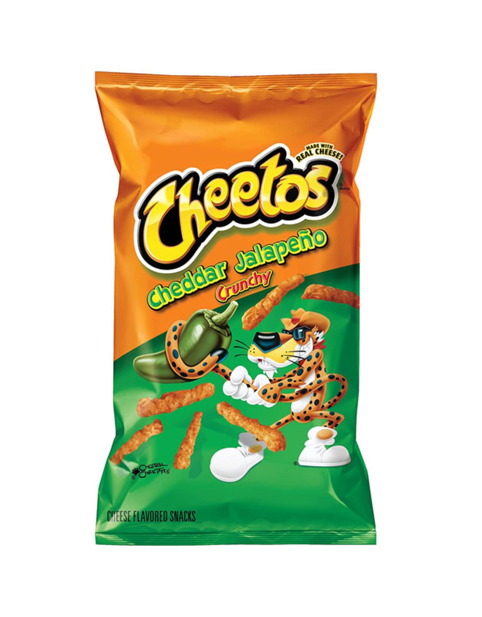 Cheetos Crunchy Cheddar Jalapeño - Large - 226g