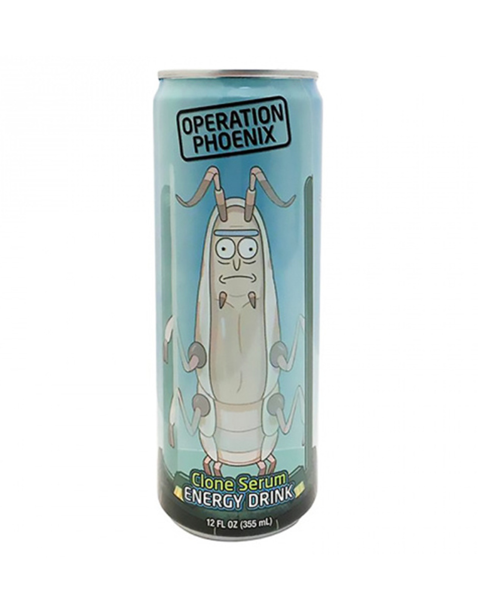 Rick & Morty - Operation Phoenix Clone Serum Energy Drink