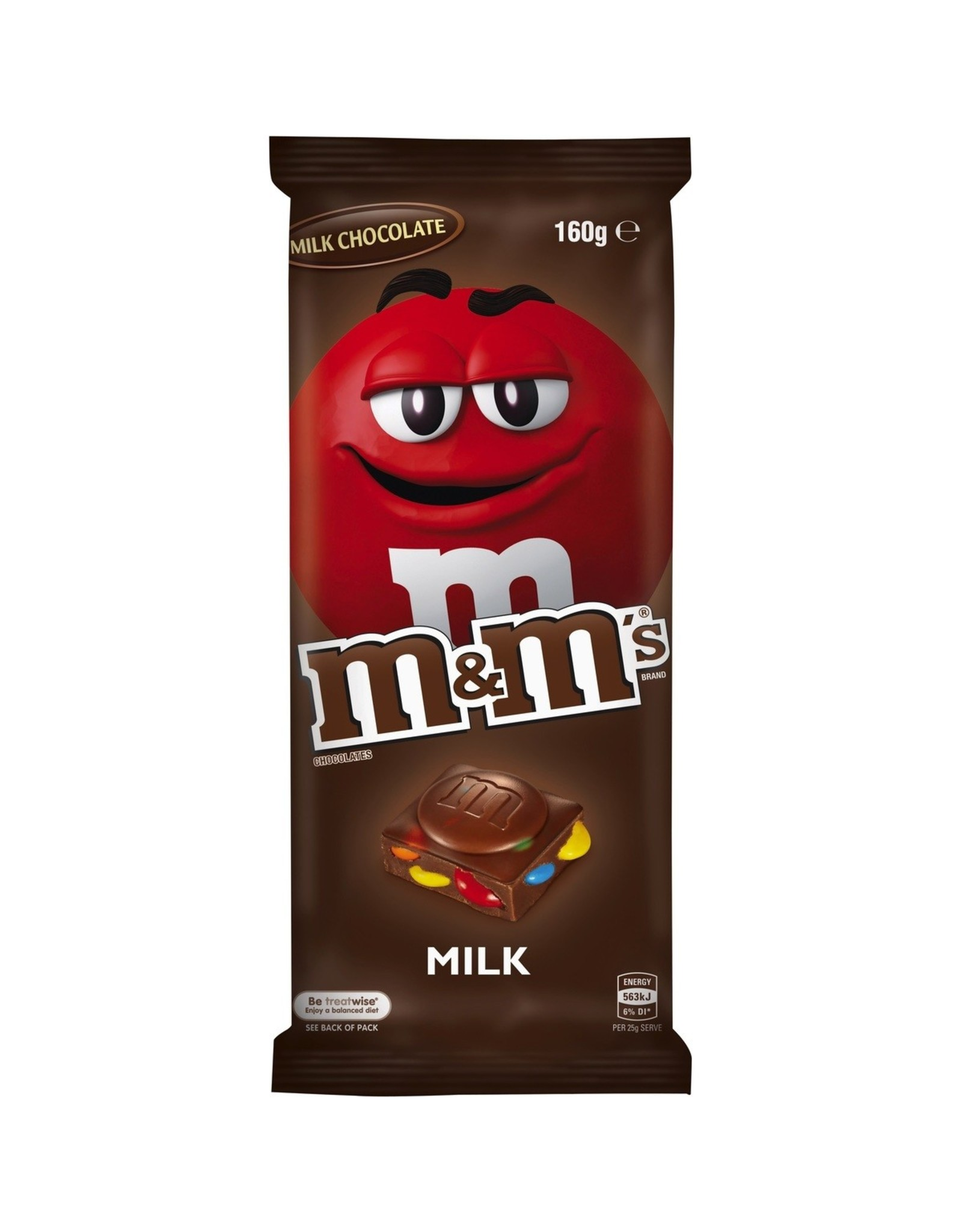 M&M's Block - Chocolate - 165g