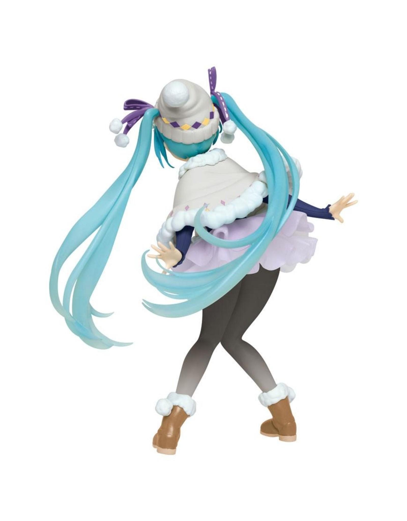 Hatsune Miku - PVC Figure - Winter Version Renewal - 18 cm