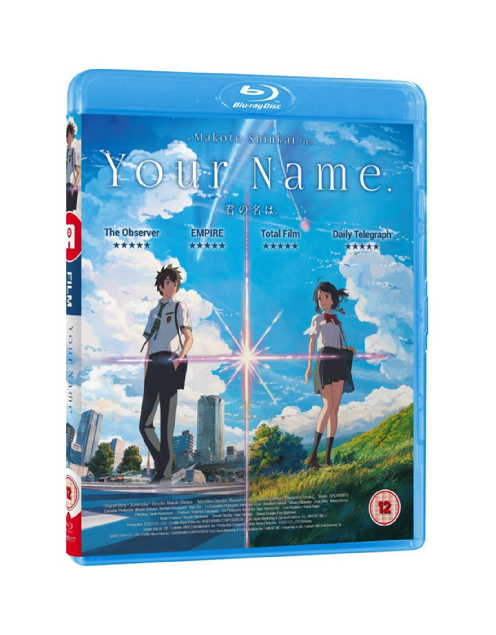Your Name (Blu-ray) - Original version, English subtitles