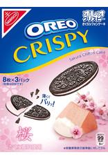 Oreo Crispy - Sakura Chiffon Cake Flavor - 3 x 8 pack