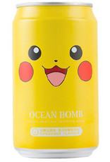 Ocean Bomb Pokémon Drink - Pikachu - Deep Sea Sparkling Water -  Cucumber Flavor