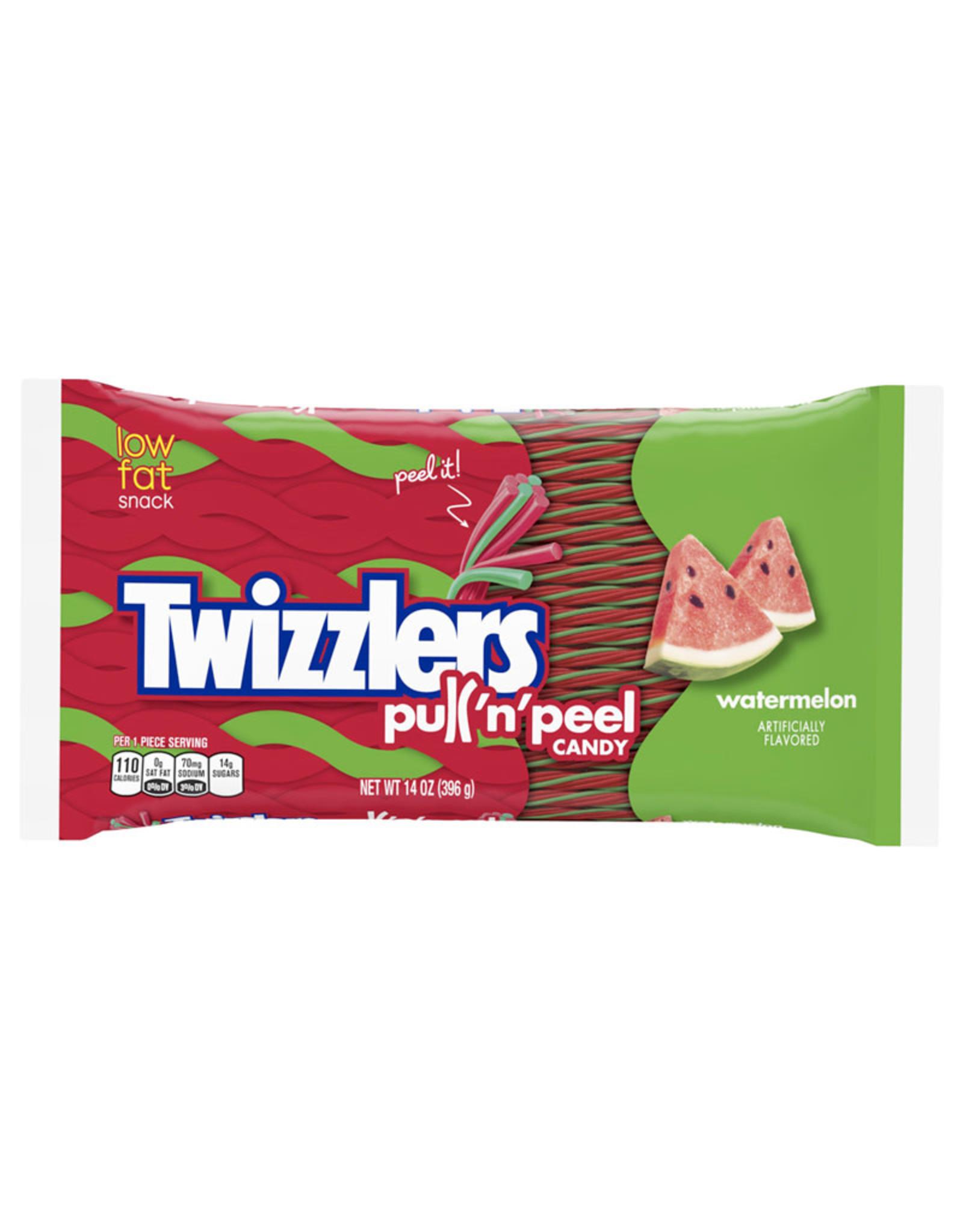 Twizzlers Pull 'n' Peel - Watermelon - LARGE - 396g