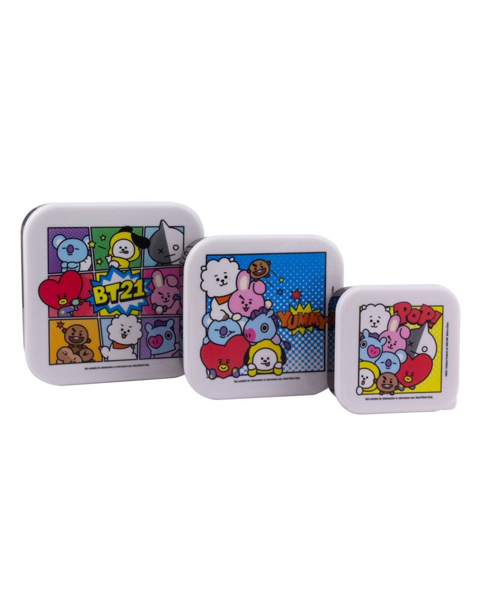 BT21 - Set of 3 Snack Boxes