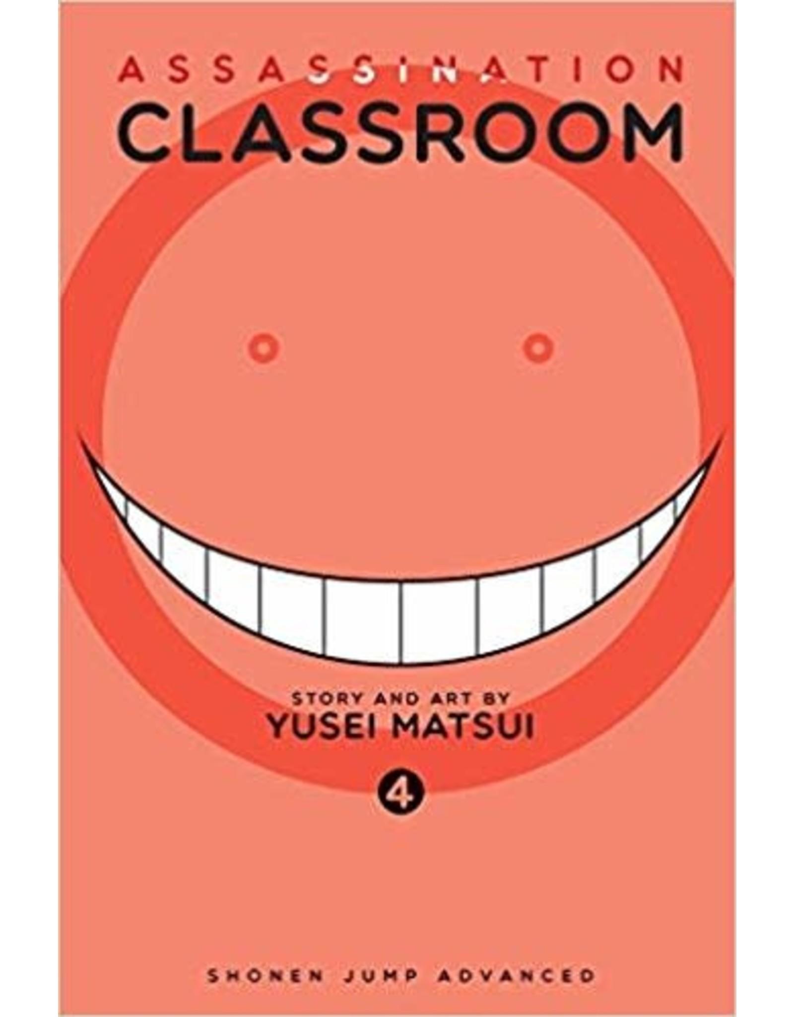 Assassination Classroom 4 (Engelstalig)