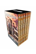 Attack on Titan - Season 3 Part 1 - Volumes 13 - 17 - Manga Box Set (English Version)