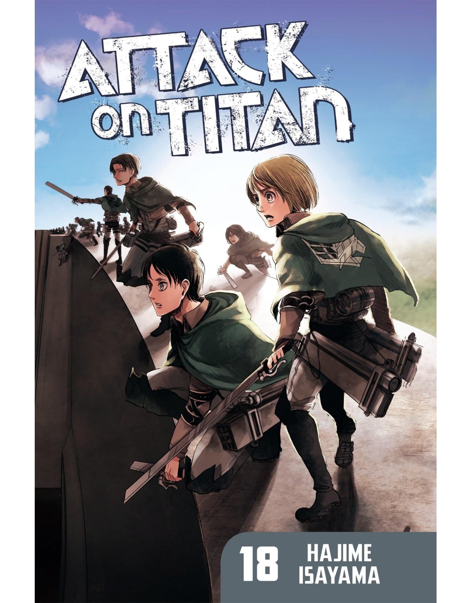 Attack on Titan 18 (Engelstalig)