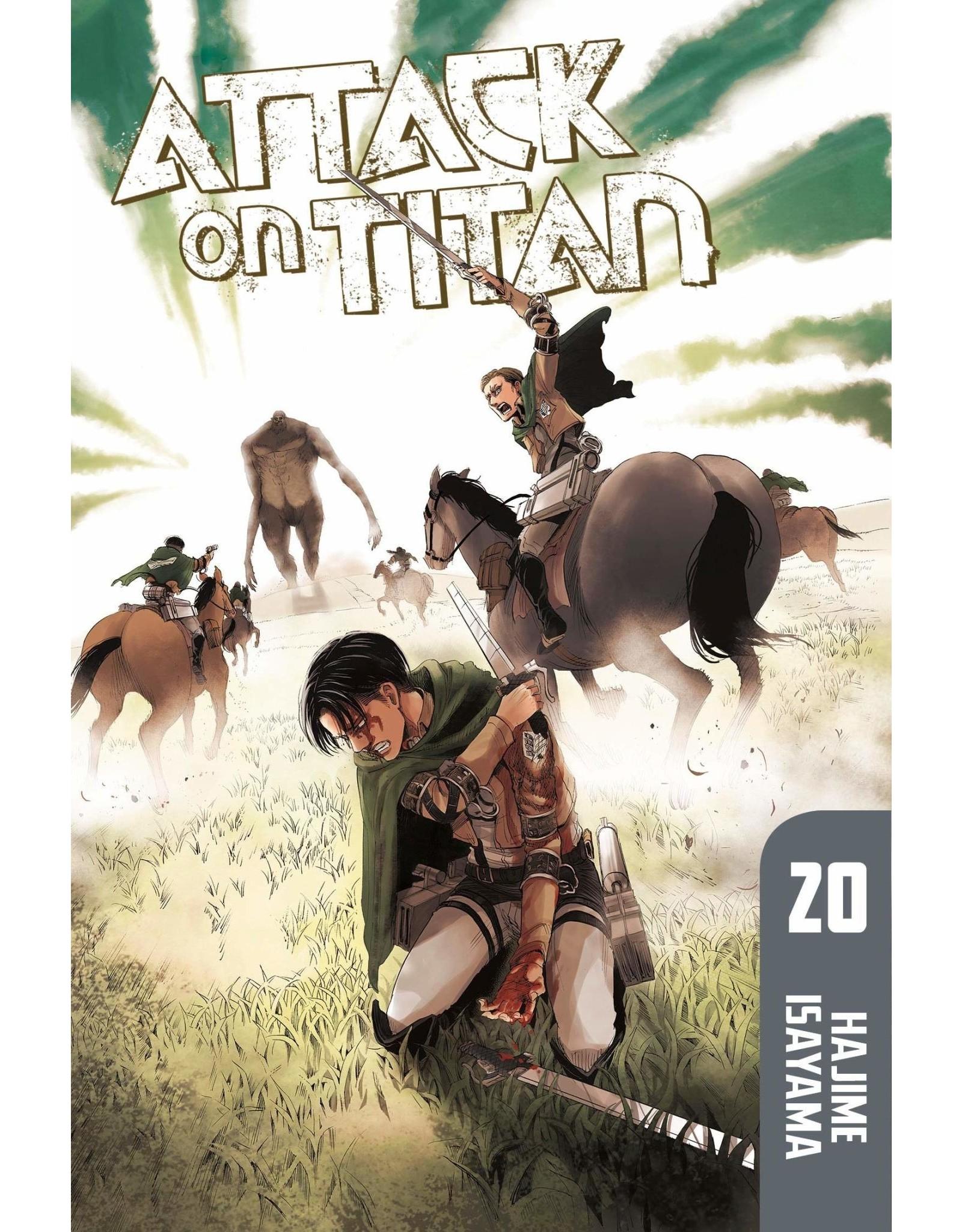 Attack on Titan 20 (Engelstalig)
