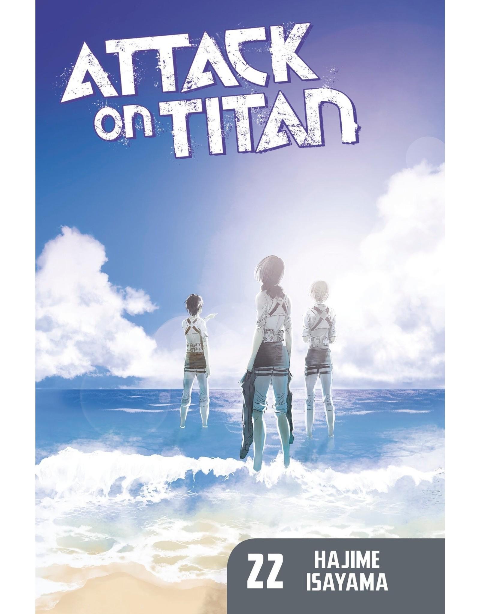 Attack on Titan 22 (Engelstalig)