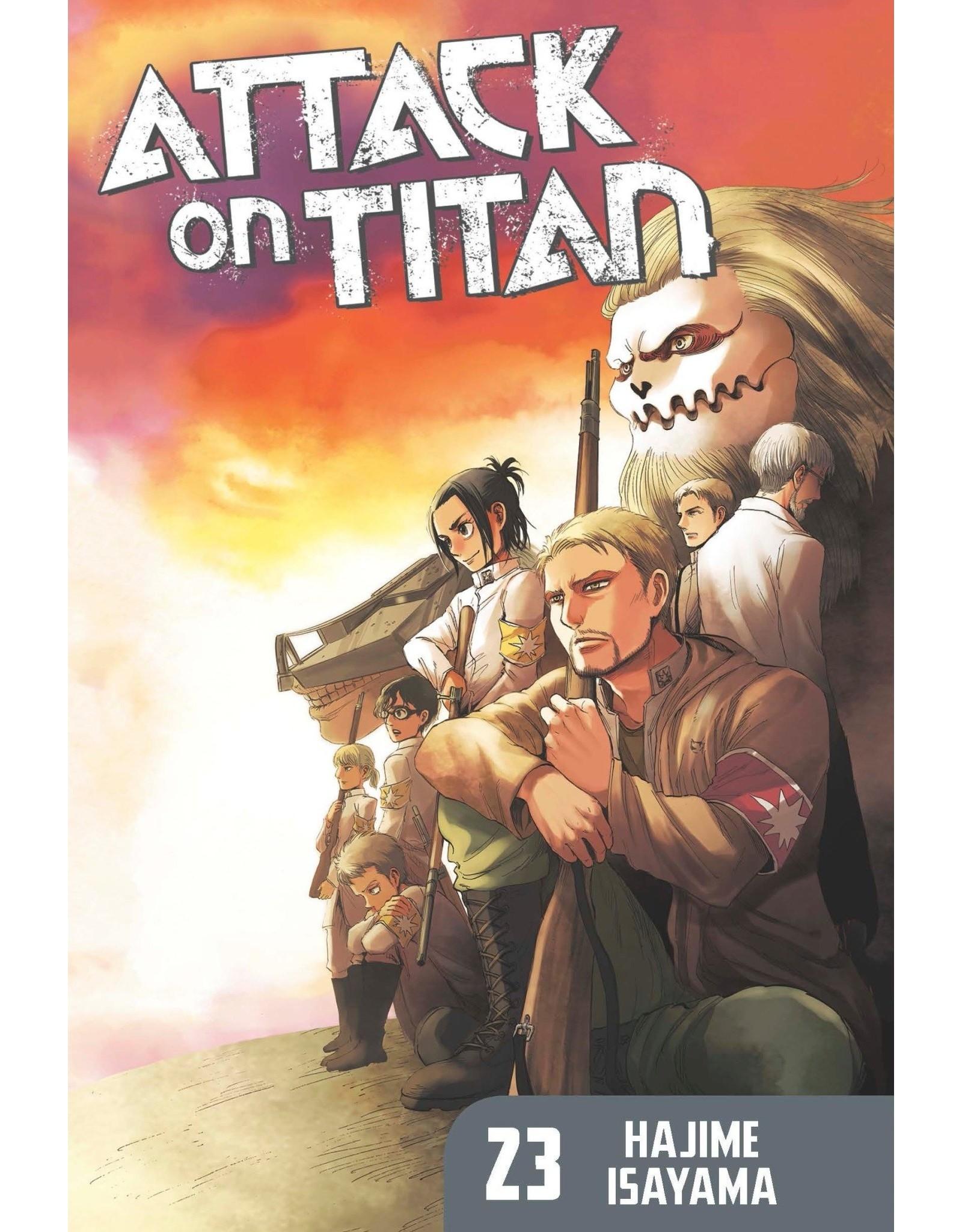 Attack on Titan 23 (Engelstalig)
