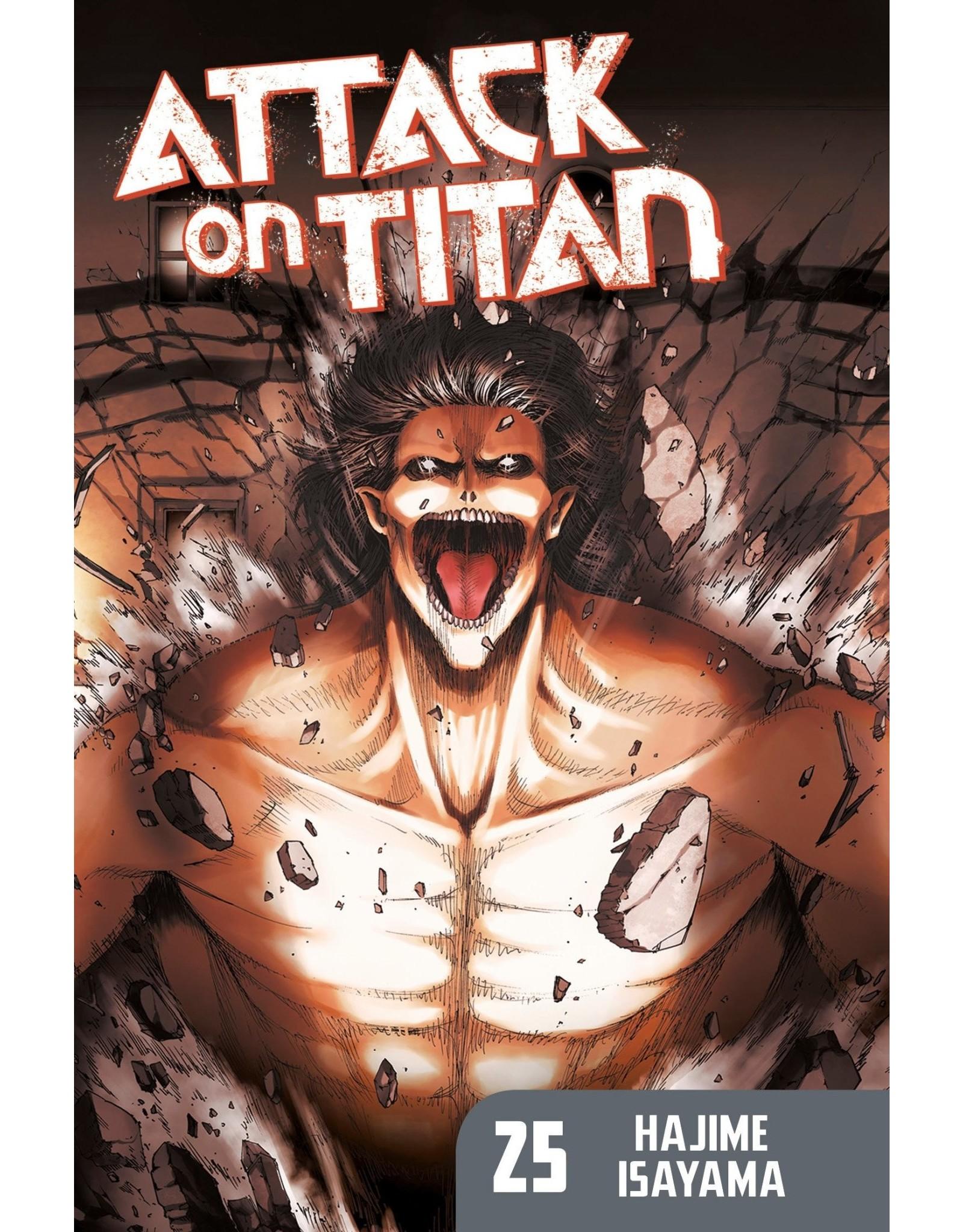 Attack on Titan 25 (Engelstalig)