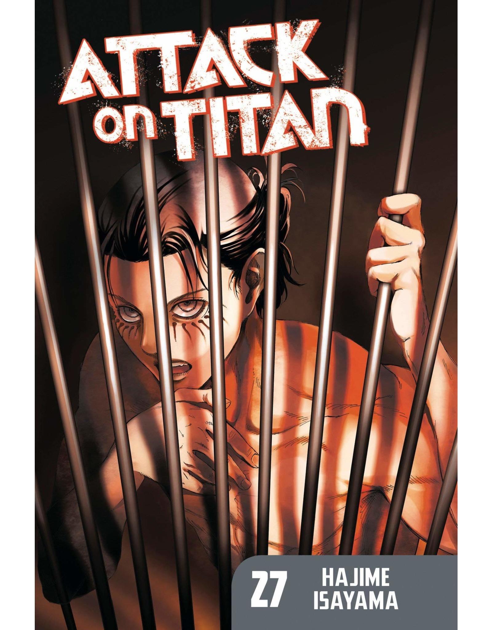 Attack on Titan 27 (Engelstalig)