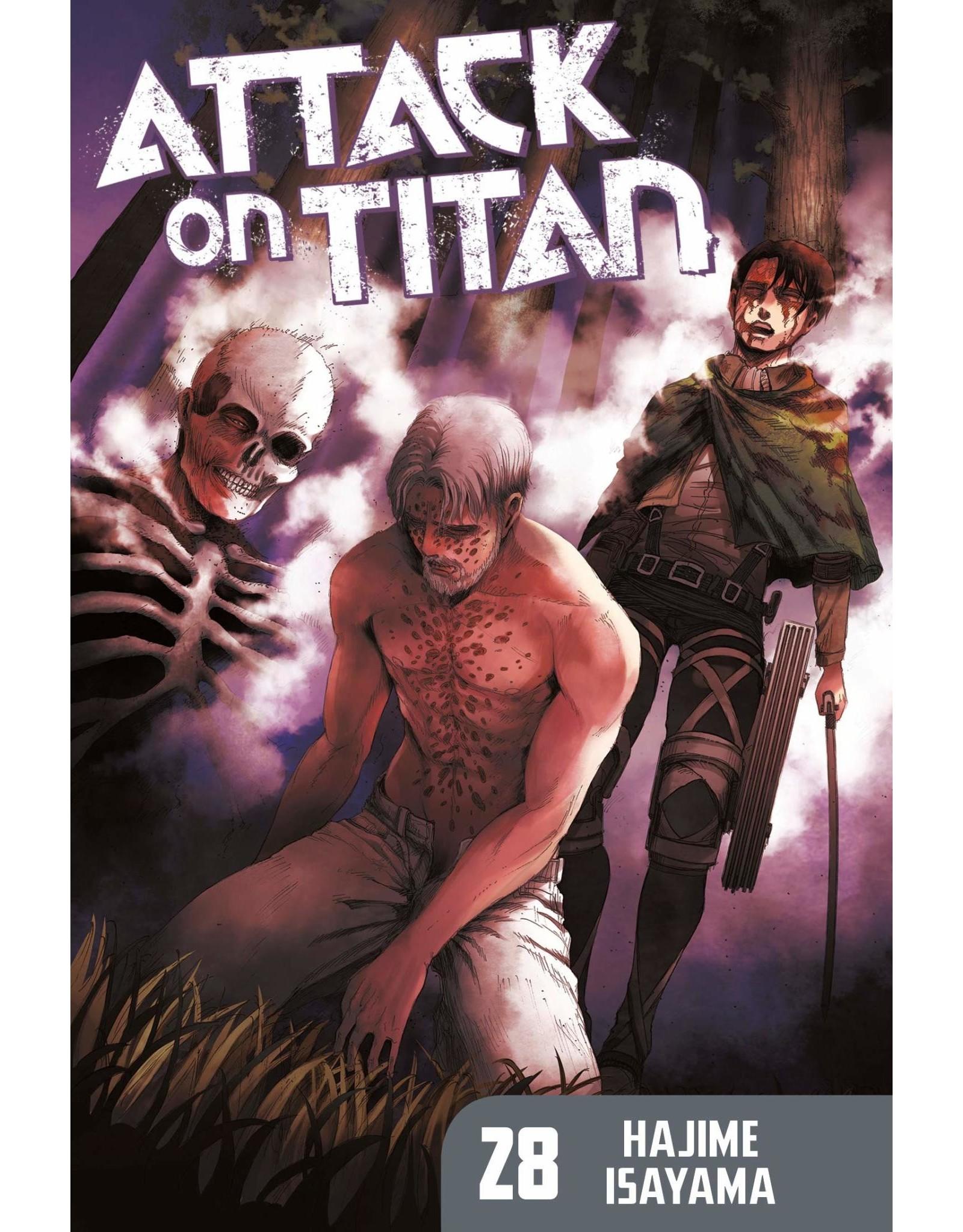 Attack on Titan 28 (Engelstalig)