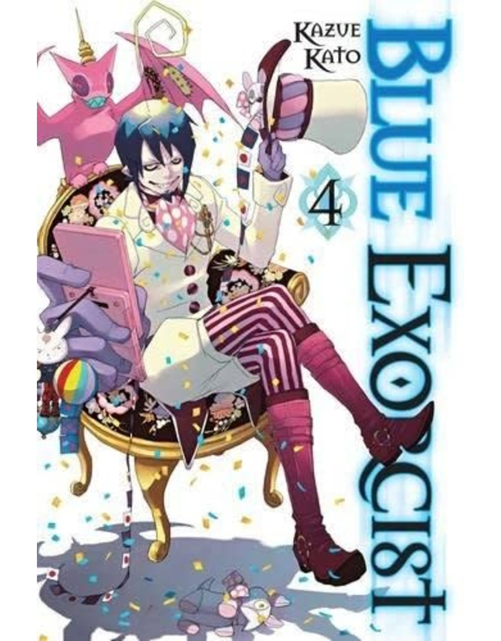 Blue Exorcist 4 (English Version)