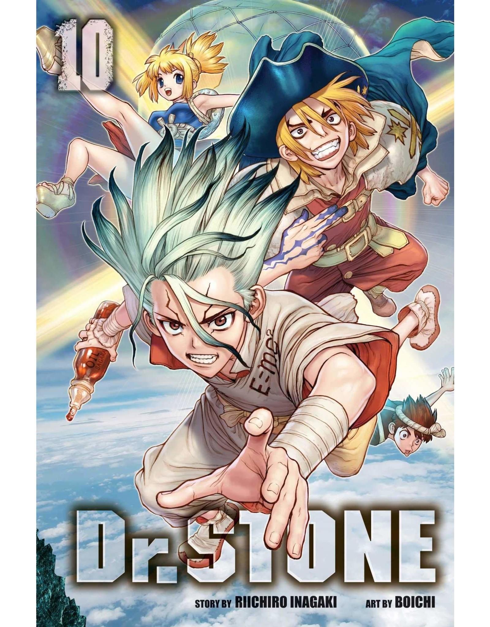 Dr. Stone 10 (Engelstalig)