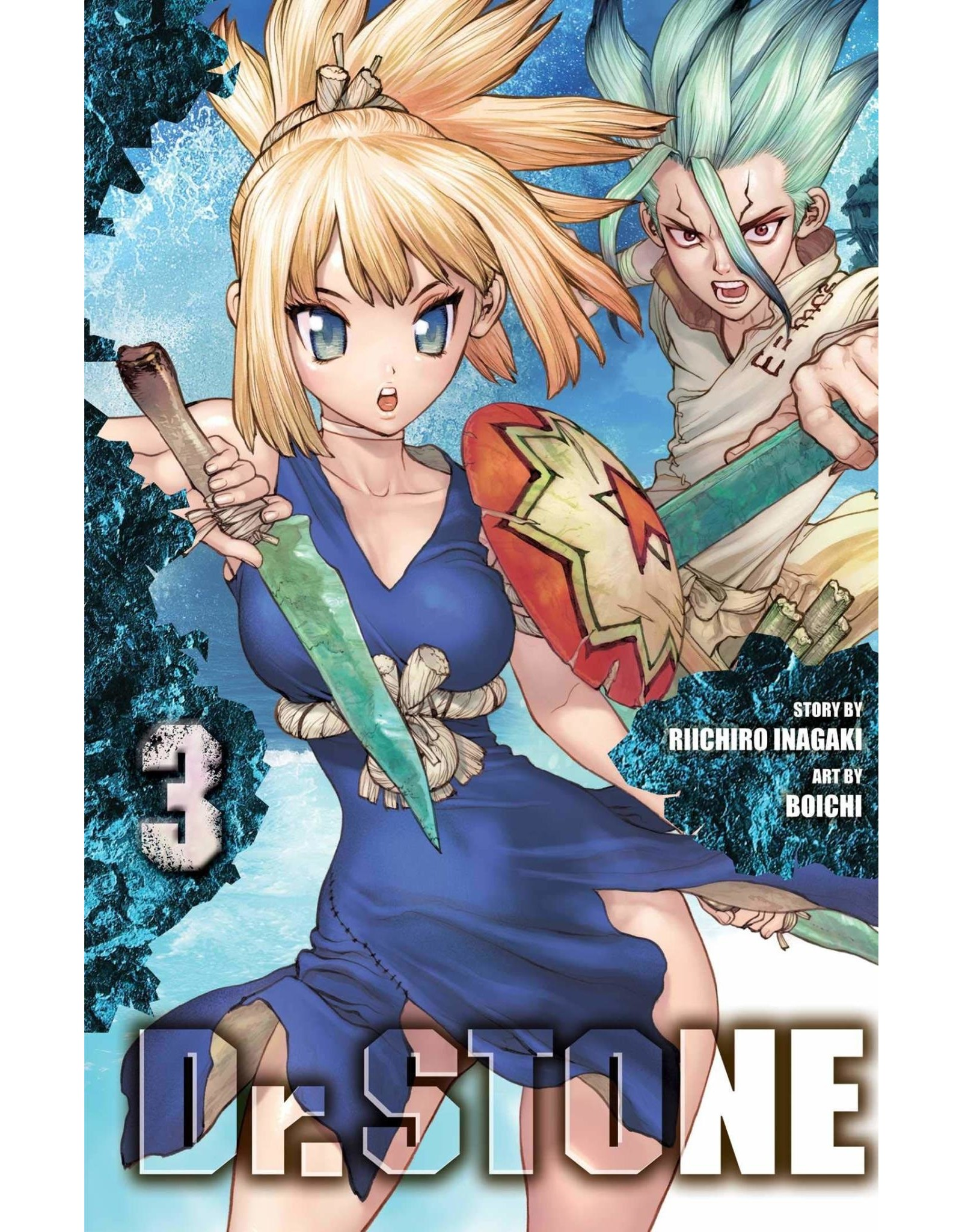 Dr. Stone 03 (Engelstalig)