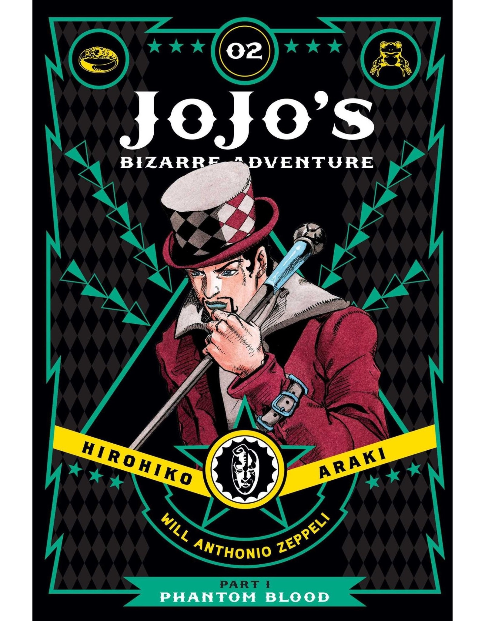 Jojo's Bizarre Adventure - Part 1: Phantom Blood - Volume 2 - Hardcover (English Version)
