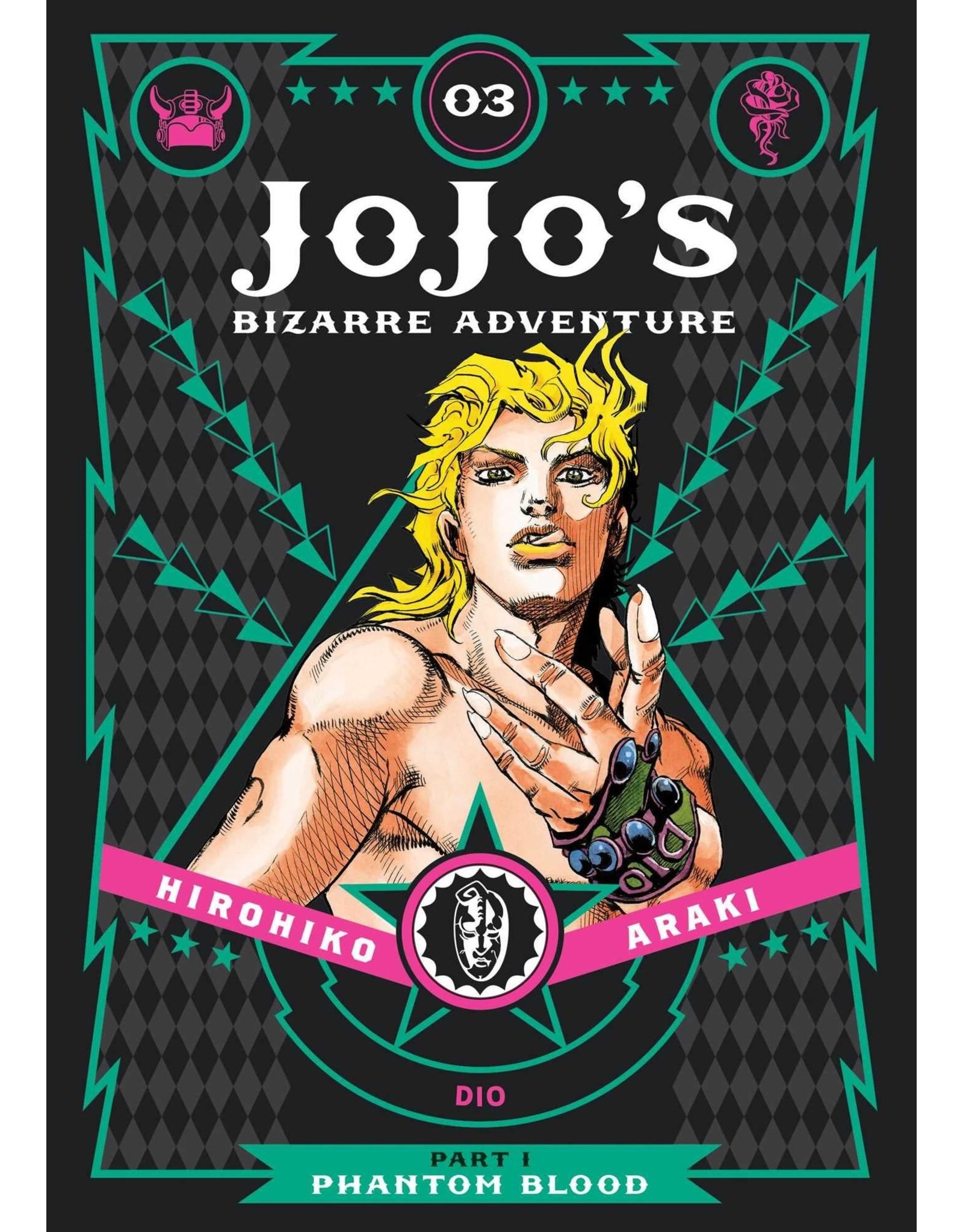 Jojo's Bizarre Adventure - Part 1: Phantom Blood - Volume 3 - Hardcover (Engelstalig)