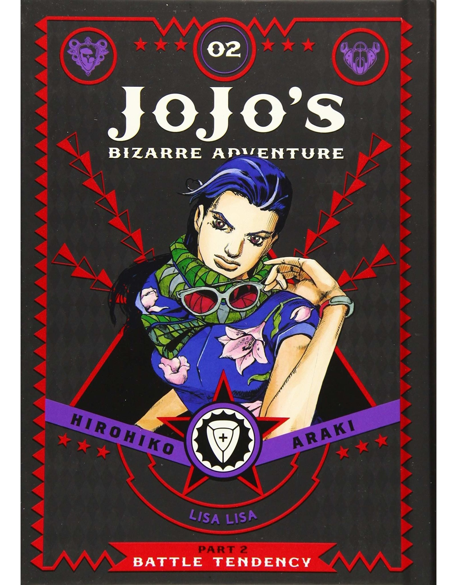 Jojo's Bizarre Adventure - Part 2: Battle Tendency - Volume 2 - Hardcover (Engelstalig)