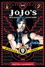 Jojo's Bizarre Adventure - Part 2: Battle Tendency - Volume 4 - Hardcover (English Version)