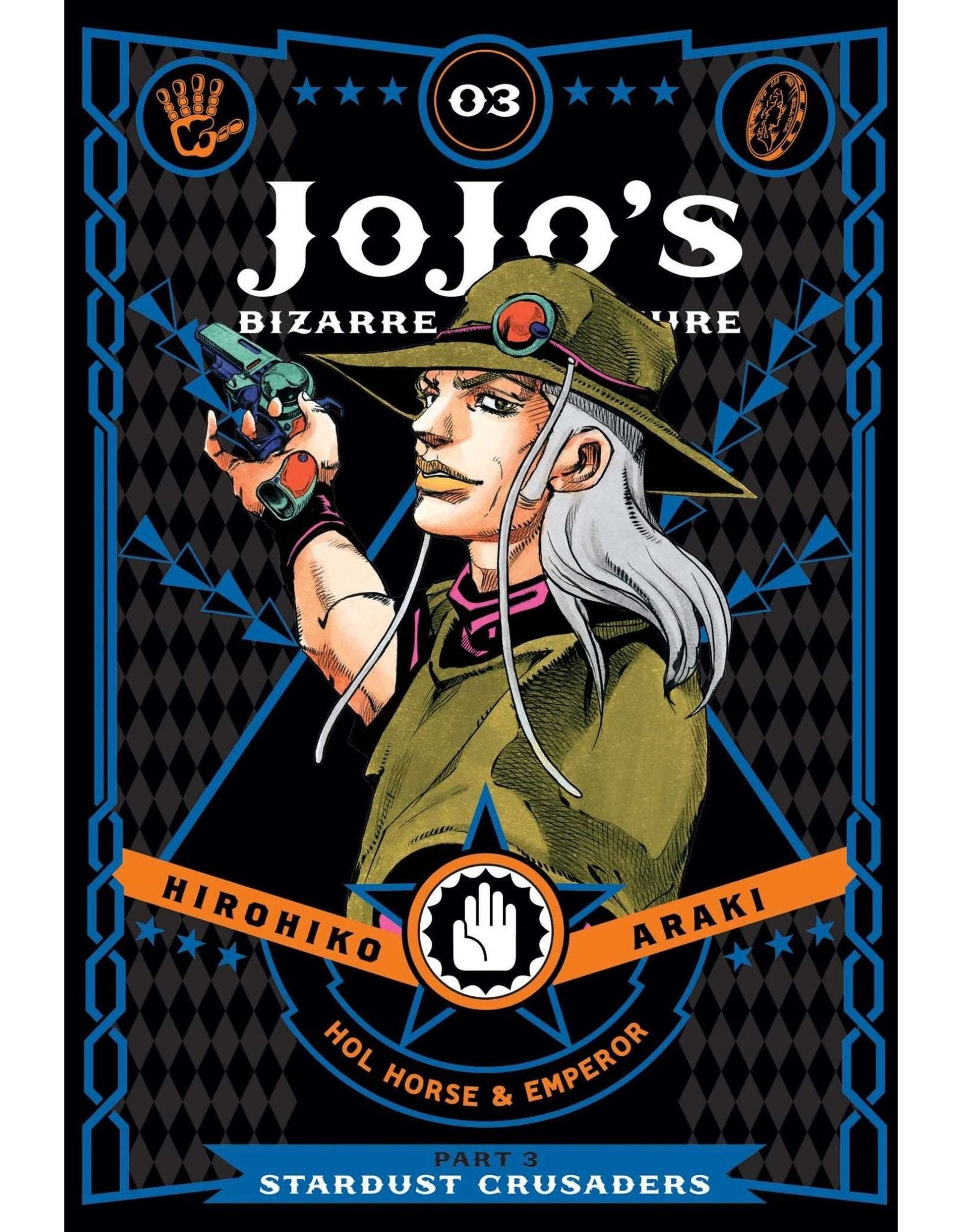 Jojo's Bizarre Adventure - Part 3: Stardust Crusaders - Volume 3 - Hardcover (English Version)