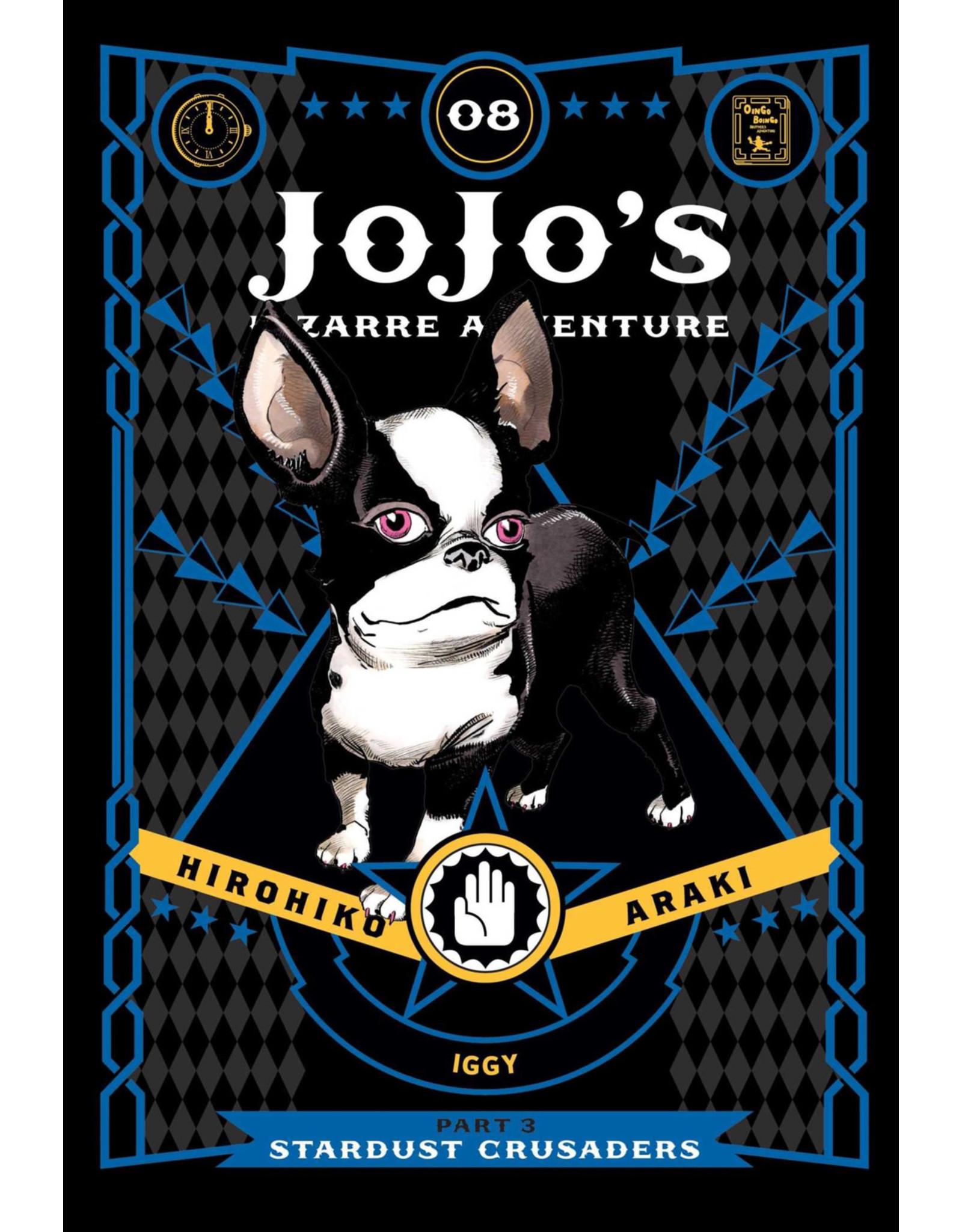 Jojo's Bizarre Adventure - Part 3: Stardust Crusaders - Volume 8 - Hardcover (English Version)