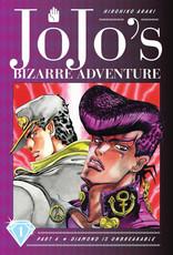Jojo's Bizarre Adventure - Part 4: Diamond is Unbreakable - Volume 1 - Hardcover (English Version)