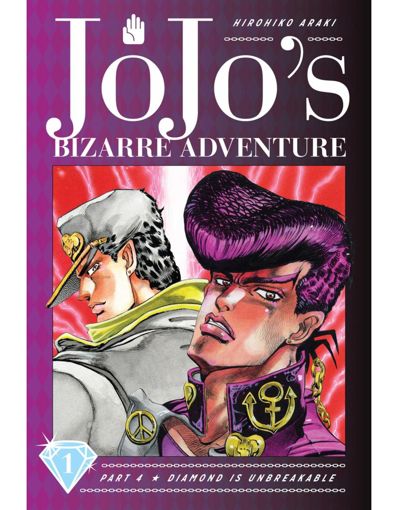 Jojo's Bizarre Adventure - Part 4: Diamond is Unbreakable - Volume 1 - Hardcover (Engelstalig)