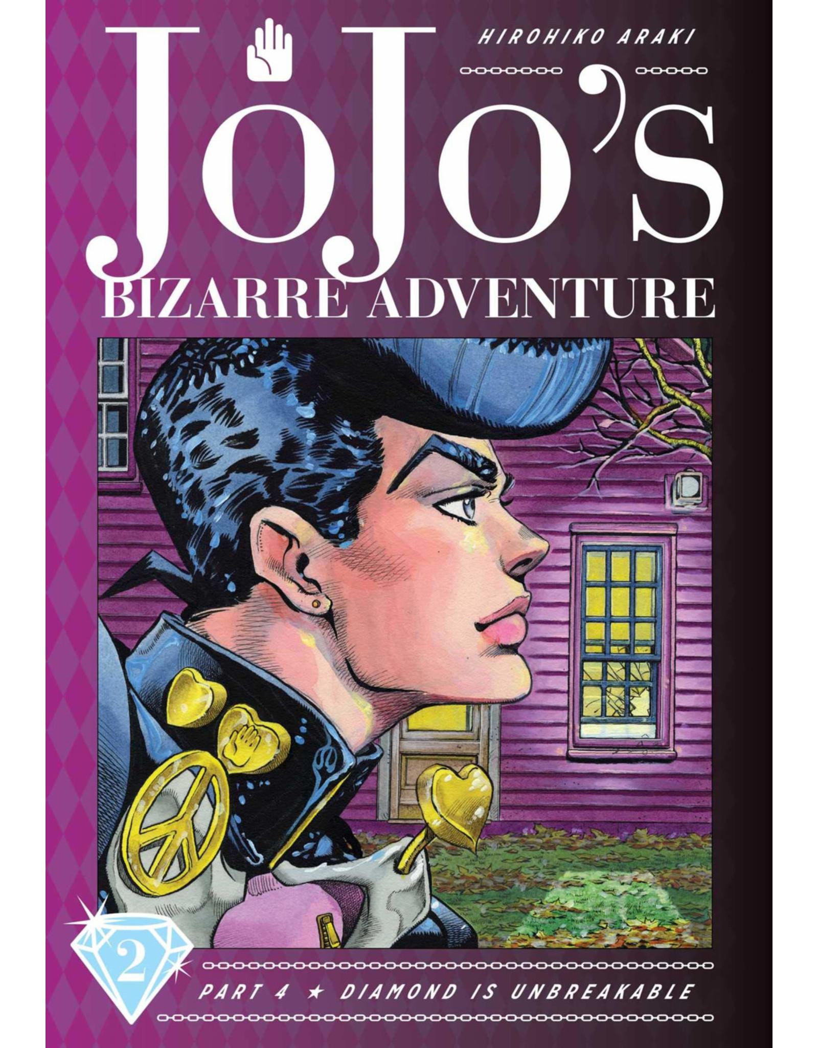 Jojo's Bizarre Adventure - Part 4: Diamond is Unbreakable - Volume 2 - Hardcover (English Version)