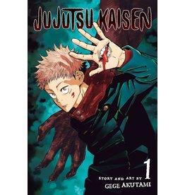 Jujutsu Kaisen 01 (Engelstalig) - Manga