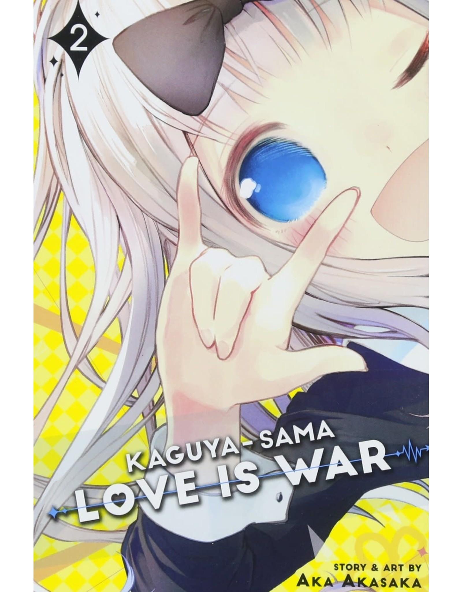 Kaguya-Sama: Love is War 02 (Engelstalig)