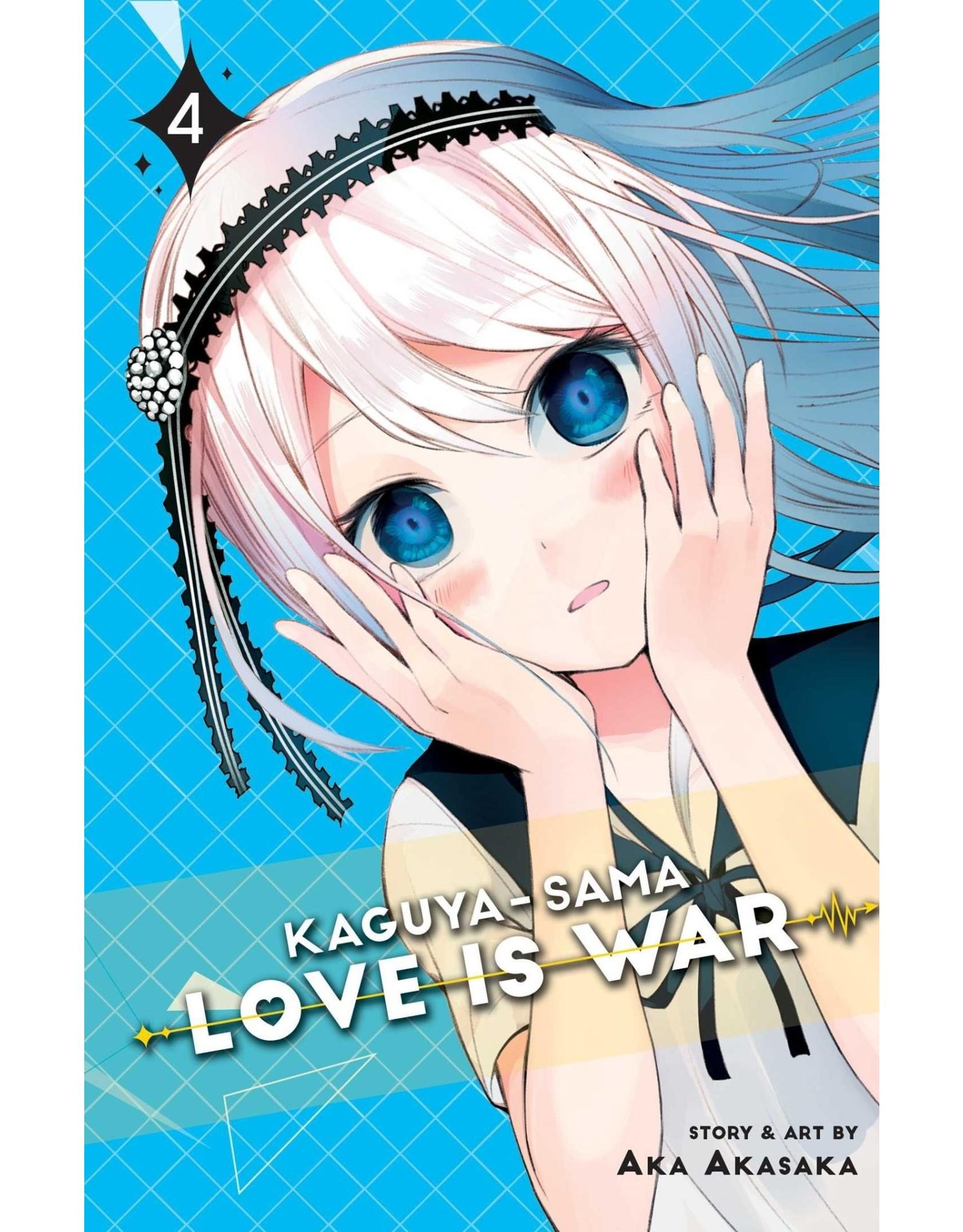 Kaguya-Sama: Love is War 04 (Engelstalig)