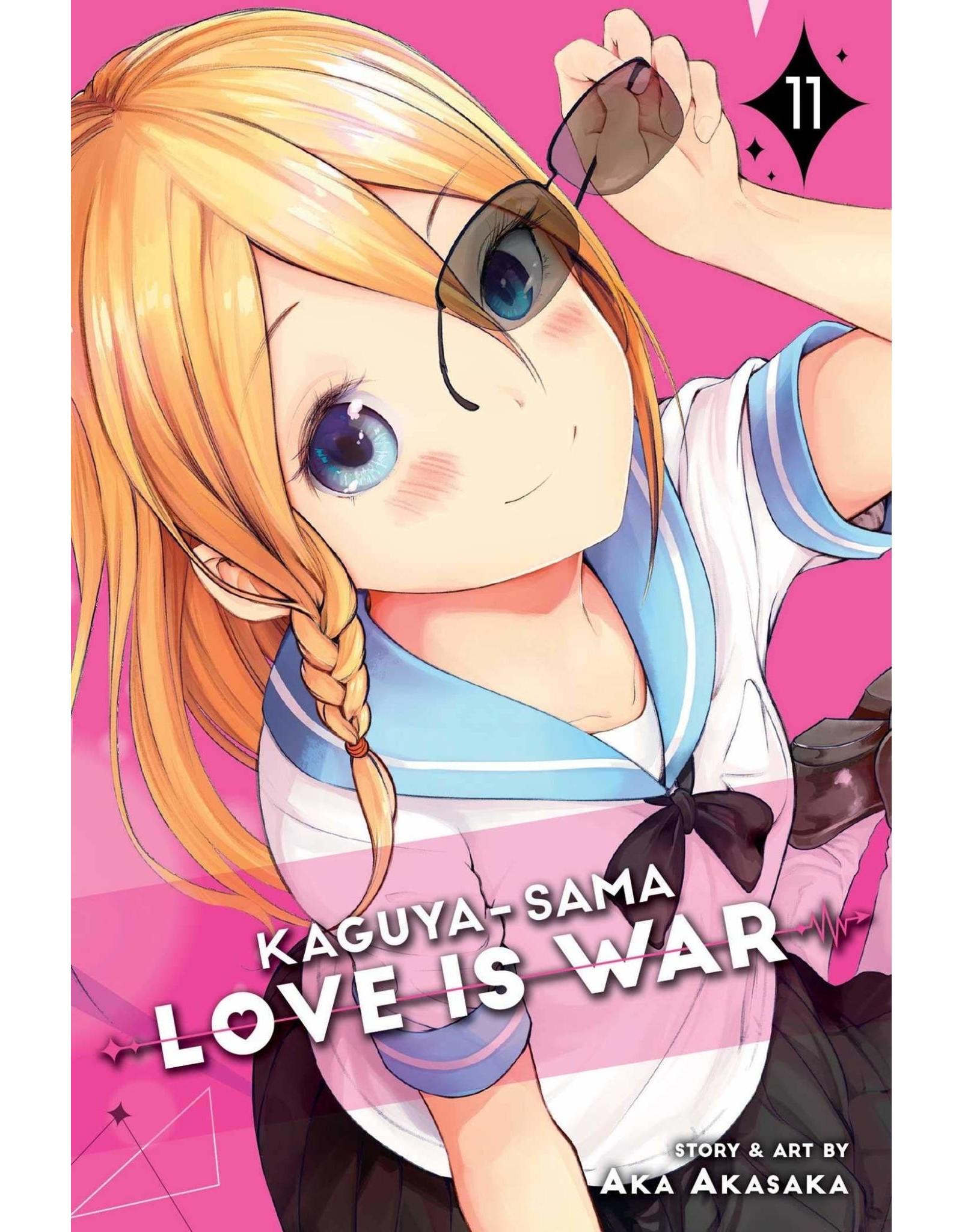 Kaguya-Sama: Love is War 11 (Engelstalig)