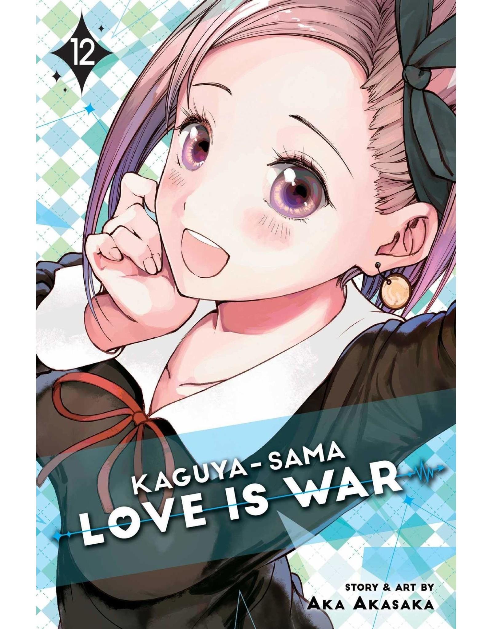 Kaguya-Sama: Love is War 12 (Engelstalig)