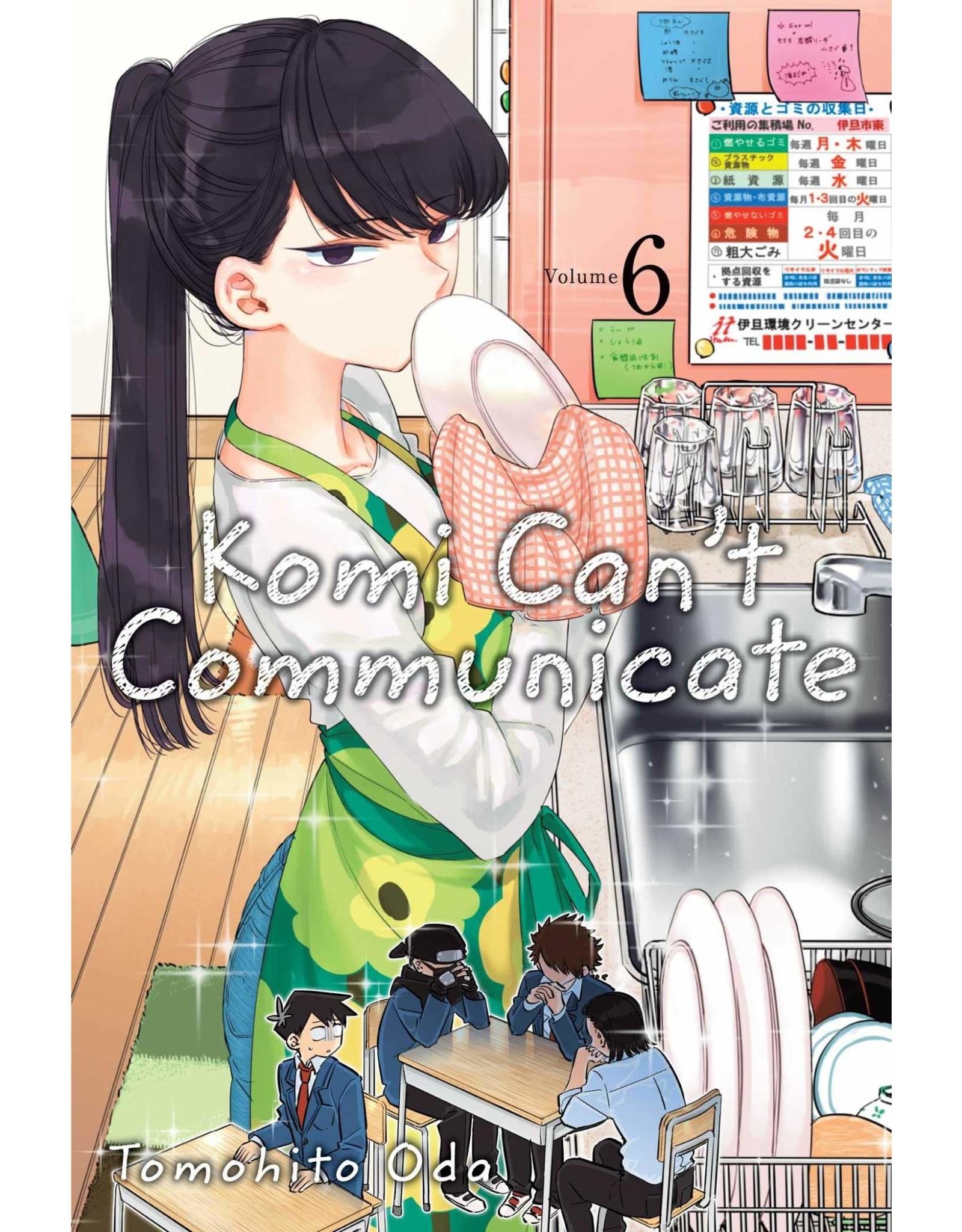 Komi Can't Communicate 6 (Engelstalig)