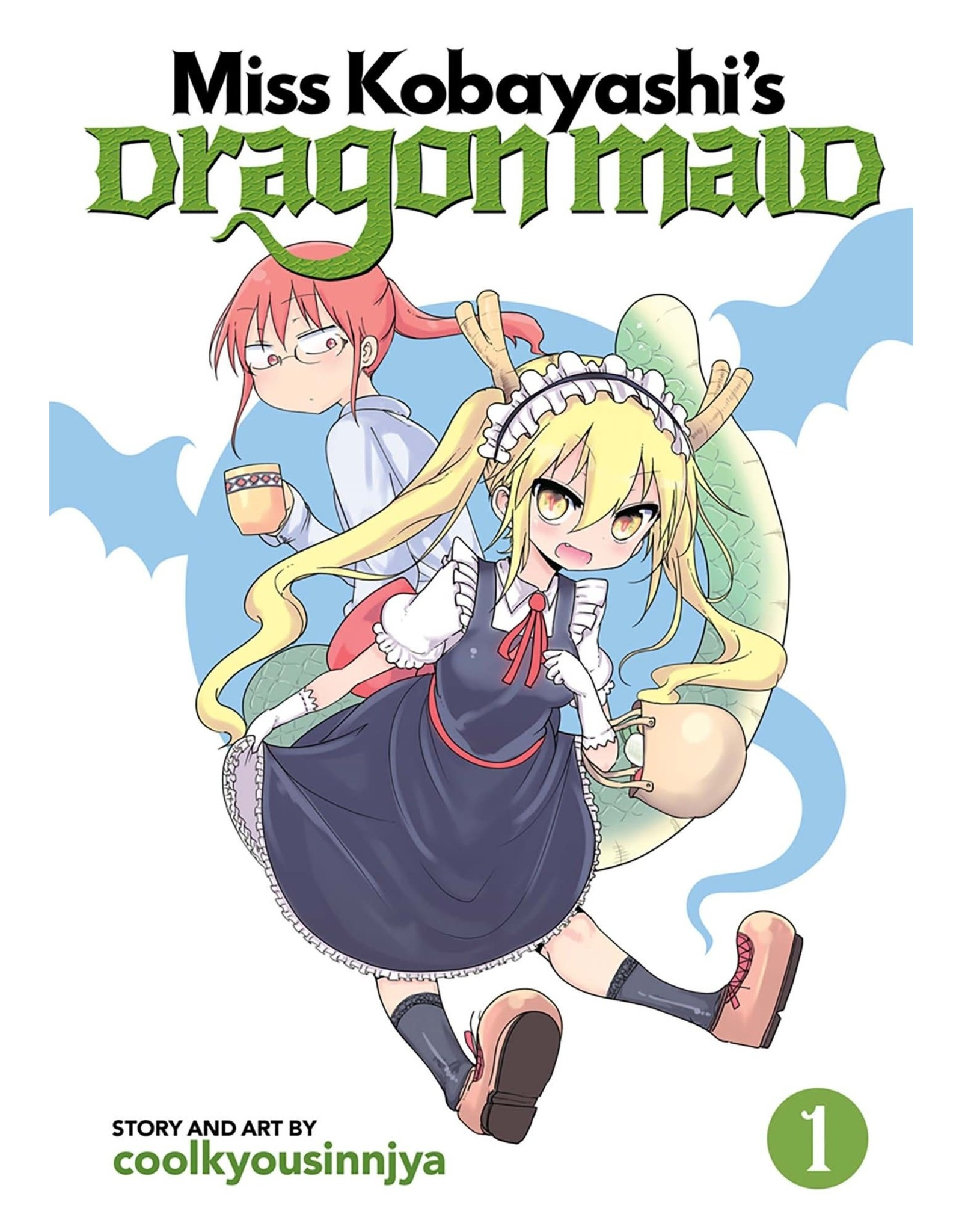 Miss Kobayashi's Dragon Maid 1 (Engelstalig)