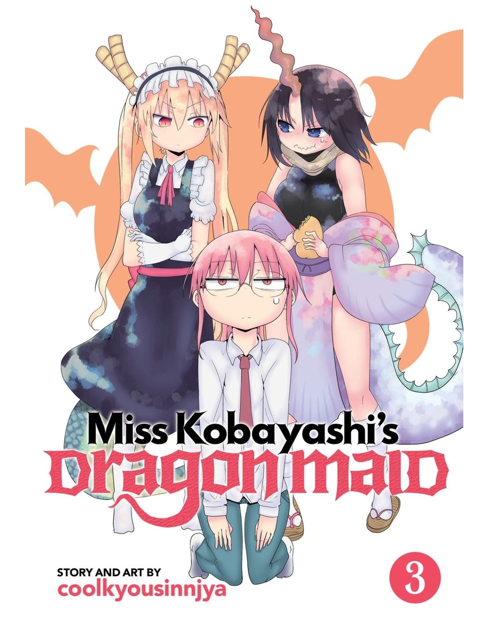 Miss Kobayashi's Dragon Maid 3 (Engelstalig)