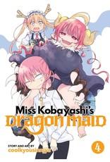 Miss Kobayashi's Dragon Maid 4 (Engelstalig)