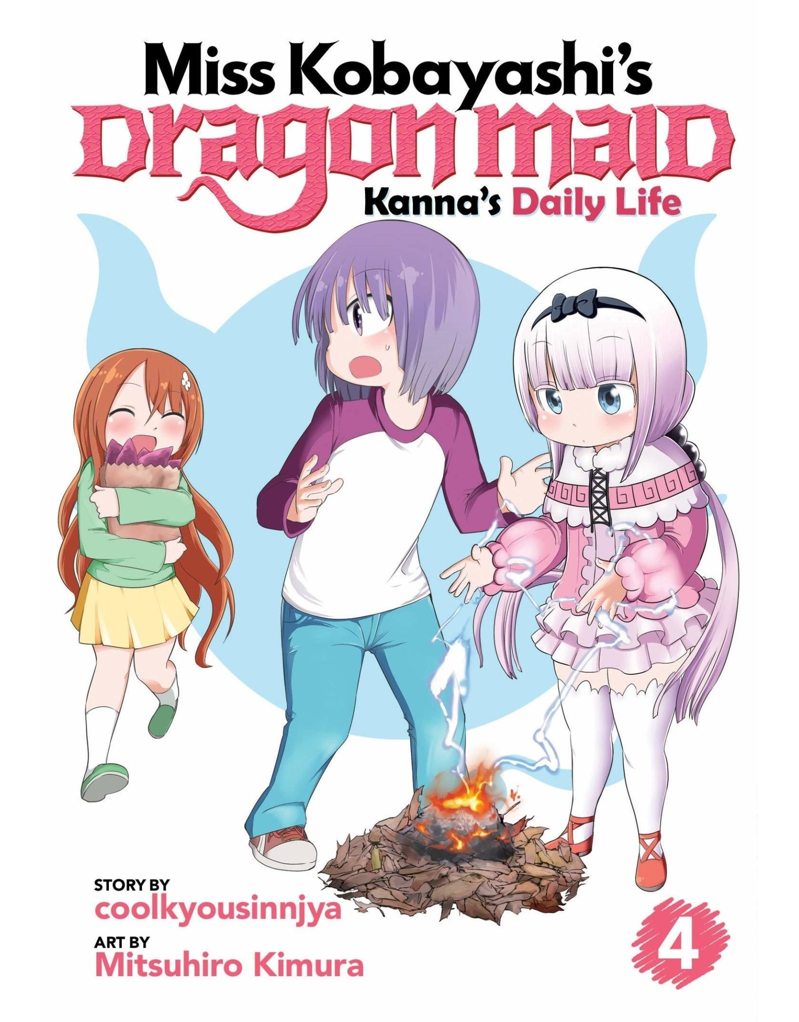 Miss Kobayashi's Dragon Maid: Kanna's Daily Life 4 (Engelstalig)