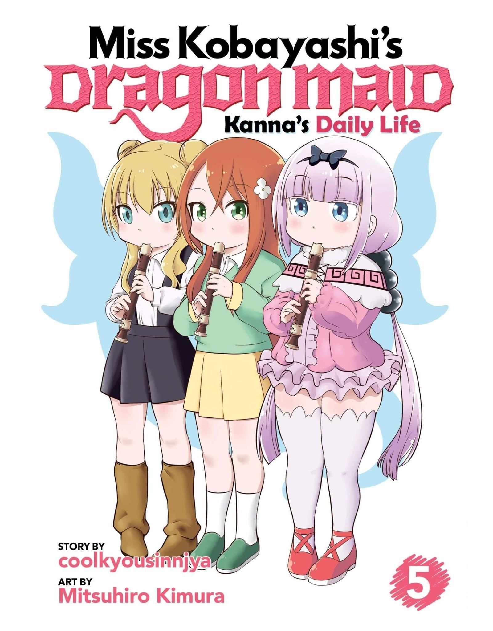 Miss Kobayashi's Dragon Maid: Kanna's Daily Life 5 (Engelstalig)