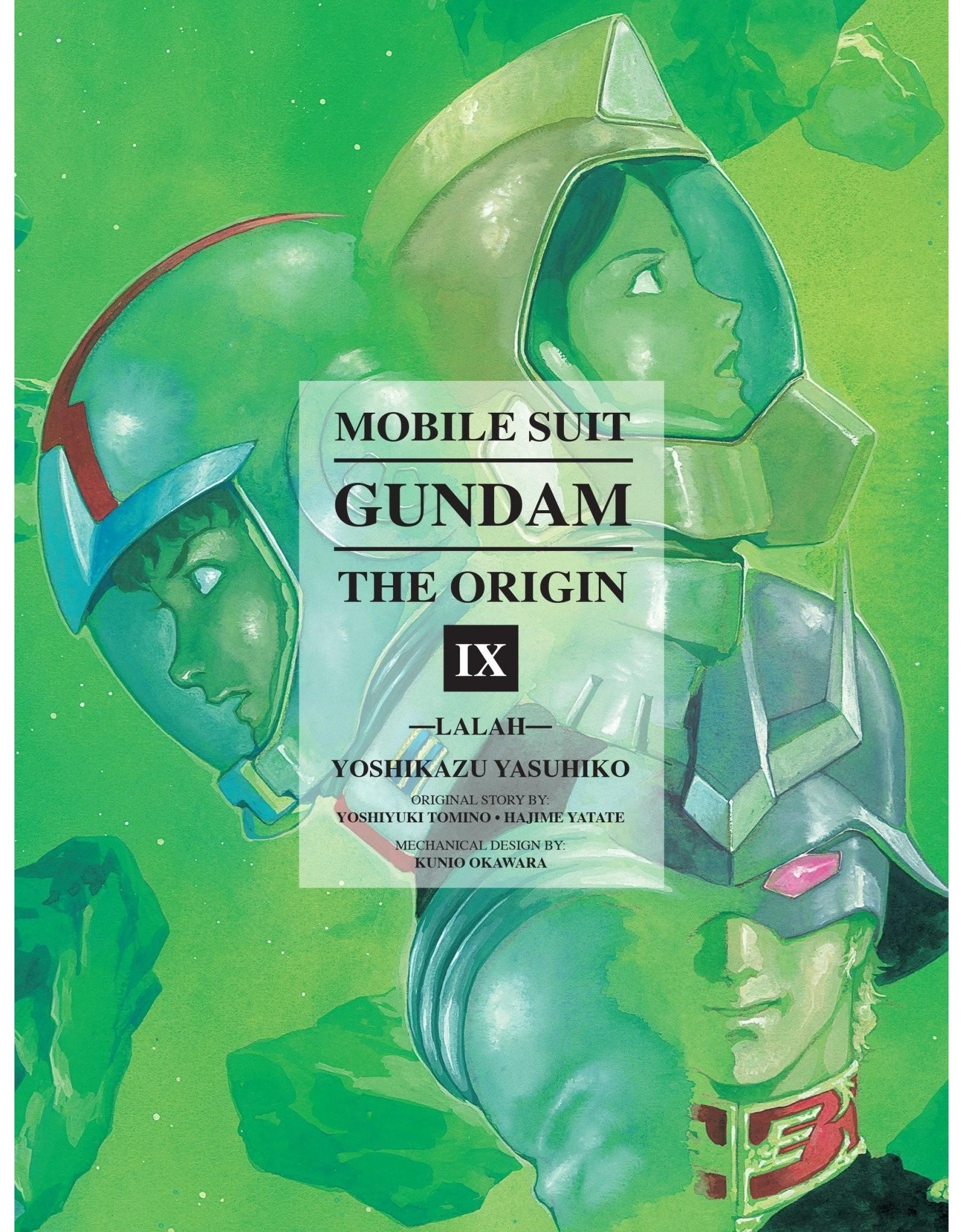 Mobile Suit Gundam: The Origin IX (English Version)