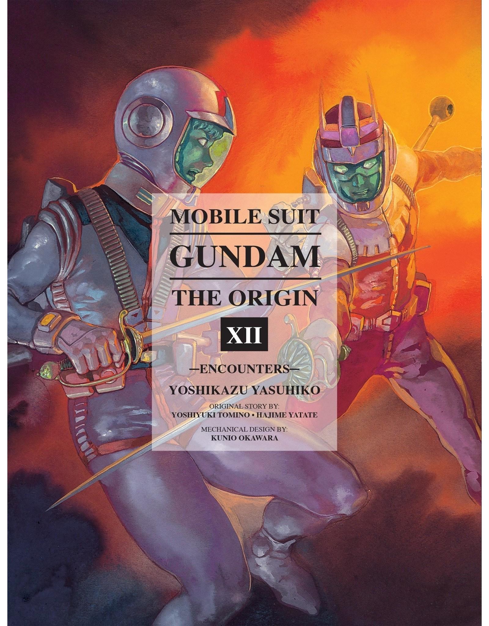 Mobile Suit Gundam: The Origin XII (English Version)